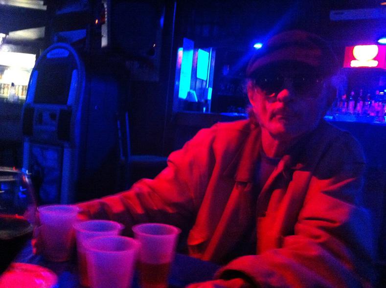 Raymond Wallace | Third Eye Cabaret at The Cellar | westvirginiaville.com photo | oct 2012