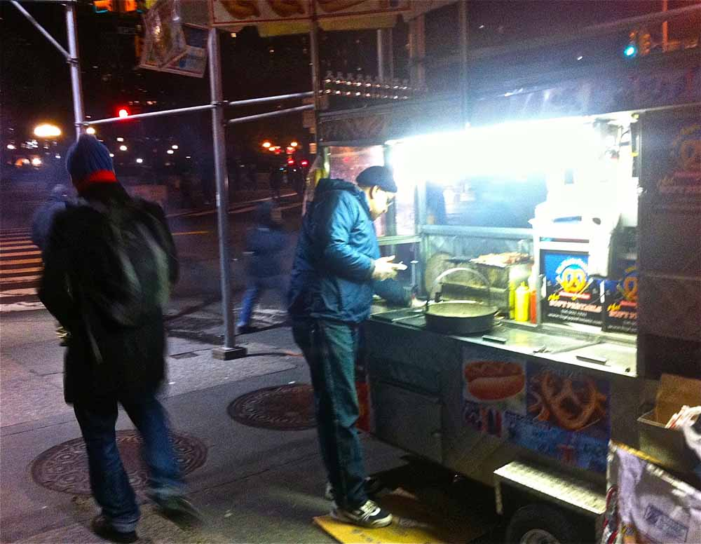 Vendor man near Union Square. | New York City March 2013 | westvirginiaville.com photo