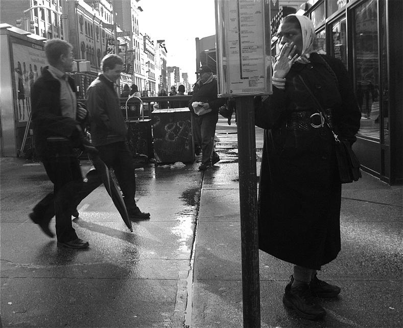 Looking Backwards. | New York City, March 2013 | westvirginiaville.com photo